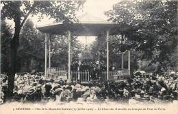 France - 08 - Mézières - Fête De La Mutualité Scolaire 1910 - Le Chant Des Mutuelles Au Kiosque Du Pont De Pierre - France