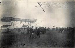 France - 08 - Circuit De L' Est D' Aviation - 3eme Etape - Mézières-Charleville - Weymann Sur Biplan Farman Atterit - Charleville