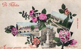 V15619 Cpa 23 De Felletein Je Vous Envoie Ces Fleurs - Felletin