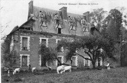 V15627 Cpa 23 Château De Lépaud - Unclassified