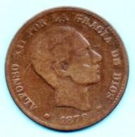 (r65) ESPAGNE / SPAIN 10 CENTIMOS 1878 OM - [ 1] …-1931 : Royaume