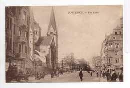 - CPA COBLENCE (Allemagne) - Rue Löhr 1924 - - Koblenz