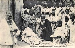 Abyssinie - Éthiopie - Harar - Les Derniers Moments D' Un Lépreux - Ethiopia