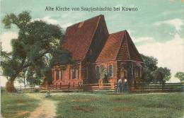 Lituanie - Kowno - Kaunas - Alte Kirche Von Szapjeshischki Bei Kowno - Lituanie