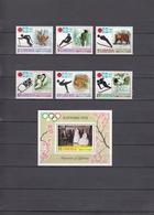 Liberia 04.11.1971 Mi # 810-15 А Bl 5 А 1972 Sapporo Winter Olympics MNH OG - Invierno 1972: Sapporo
