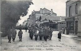 Guerre  14/18 - Défilé Des Troupes Russes à Mailly-le-Camp - La Musique - War 1914-18