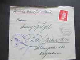 DEUTSCHE DIENSTPOST UKRAINE Kam. Podolsk - Wien 1944  ////  D*33082 - Deutschland