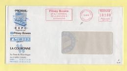 EMA - Machine BE - Specimen - Pitney-Bowes - Machine A Affranchir - 1976 - Marcophilie (Lettres)