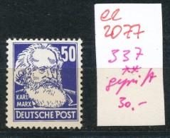 DDR Nr.  337 V  Geprüft  **    (ee2077 ) Siehe Scan - [6] République Démocratique