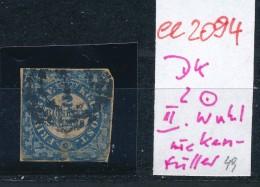 Dänemark Nr .2 O  II.Wahl    (ee2094  ) Siehe Scan - 1851-63 (Frederik VII)