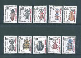 Timbres Taxe De St Pierre Et Miquelon  De 1986  N°82 A 91  Neufs ** - Timbres-taxe