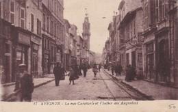 84 / AVIGNON / RUE CARETTERIE ET CLOCHER DES AUGUSTINS - Avignon