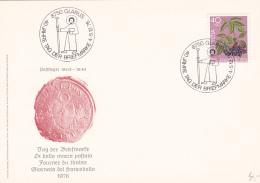 Tag Der Briefmarke - Journée Du Timbre - Giornata Del Francobollo : Carte GLARUS 1976 - Suisse