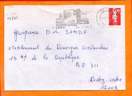 NORD, Loos, Flamme SCOTEM N° 13861, Théatre Du Square - Marcofilie (Brieven)