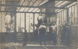 Cureghem Atelier Construction J. Couterion. Kuregem Anderlecht. Fotokaart. - Anderlecht
