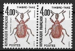 France 1982 - Variété :Timbres Taxe  Y&T N° 108 ** Neuf Luxe  (gomme D'origine Intacte). - Autres