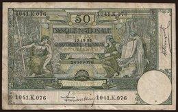 50 Francs, 1925 - Unclassified
