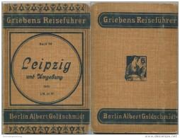 Leipzig Und Umgebung - 7. Auflage 1919 - 77 Seiten Plus Werbung - Mit Zwei Karten - Band 93 Der Griebens Reiseführer - Saxe
