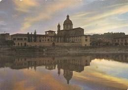 FIRENZE TRAMONTO SULL' ARNO CHIESA DI CESTELLO VIAGGIATA - Firenze (Florence)