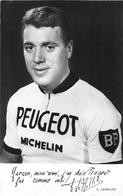 """Le Coureur Cycliste """" Pierre LEMELLEC """" De L'Equipe  PEUGEOT Né à VANNES En 1940 - Vannes"""