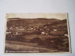 Steinheim (Luxembourg) Panorama // Used 193? - Postkaarten