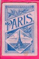 Album 23 Images Souvenir  De Paris - Vieux Papiers