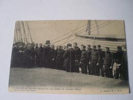 Le Discours Du Ministre Francotte Aux Cadets Du Dernier Depart Du Smet De Nayer // 19?? Ed. Lagaert - België