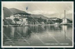 Bergamo Sarnico Lago D'Iseo Albergo Roma Foto Cartolina RT4116 - Bergamo