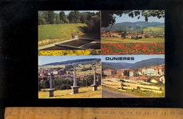DUNIERES Haute Loire 43 : Multivues Village Croix Coupes De Bois   1972 - Altri Comuni