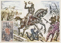 Carte   Maximum   1er   Jour    FRANCE   Le  Chevalier   BAYARD   PONCHARRA   1969 - Cartes-Maximum