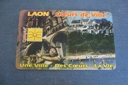 CARTE à PUCE  CARTE DE STATIONNEMENT  LAON COEUR DE VILLE - Frankrijk