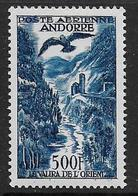 Andorre - P.A.  4  **  - Cote : 140,00 € - Correo Aéreo
