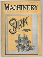 Magazine * Industrial * Machinery * UK * Vol. 39 * No. 1008 * 1932 - Autres