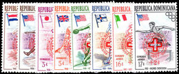 Dominican Republic 1957 Hungarian Refugee Set Unmounted Mint. - Dominican Republic