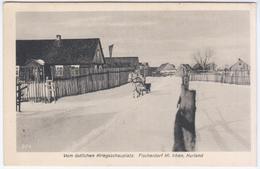 Latvia Germany, Kurland 1917, Irbene Irben - Letonia
