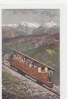 Niesenbahn - Grossaufnahme - Briefmarke? - 1924         (P-158-60721) - Funicular Railway