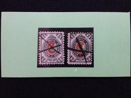RUSSIA - Poste Locali 1880 - WENDEN Nn. 9/10 Annullo A Penna + Spese Postali - 1857-1916 Impero