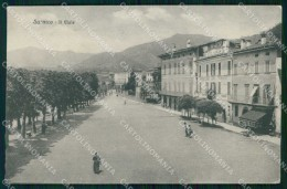 Bergamo Sarnico Lago D'Iseo Viale Cartolina RT4160 - Bergamo
