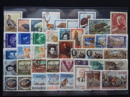 RUSSIA Anni '50 - Lotto Serie Complete Timbrate + Spese Postali - Unused Stamps