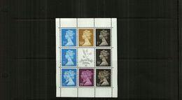 GREAT BRITAIN - QEII - 1990 - BOOKLET PANE -  8 Stamps + Label - Stamp World London - 1952-.... (Elizabeth II)