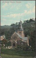 All Saints' Church, Clevedon, Somerset, 1910 - Valentine's Postcard - England