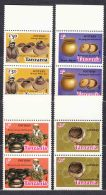 Tanzania 1985 Mi#276-279 Mint Never Hinged Pairs - Tanzanie (1964-...)