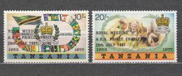 Tanzania 1981 Mi#179-180 Mint Never Hinged - Tanzanie (1964-...)