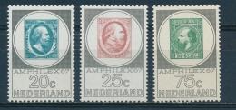 Nederland/Netherlands/Pays Bas/Niederlande 1967 Mi: 880-882 Nvph: 886-888 (PF/MNH/Neuf Sans Ch/**)(3534) - Ungebraucht