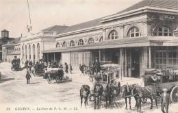 XCH.677.  Genève - La Gare - GE Ginevra