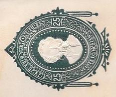 HONDURAS ENTERO POSTAL ENTIER INTERO ENTIER POSTAUX POSTAL STATIONERY CIRCA 1895 25 CENTAVOS VERDE OBSCURO - Honduras