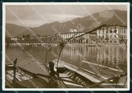 Bergamo Sarnico Lago D'Iseo Barche FG Foto Cartolina RT4194 - Bergamo