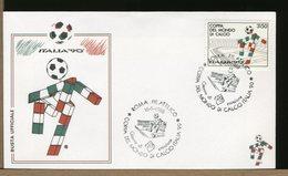 ITALIA - COPPA DEL MONDO DI CALCIO - ROMA - FDC - World Cup