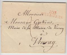 LSC 103 GUELDRES (Rge) - Pr Venray - TB - Postmark Collection (Covers)