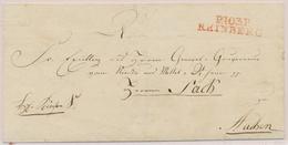 LSC P103P RHINBERG (Rge) - 1815 - Pr Aachen - TB - Postmark Collection (Covers)
